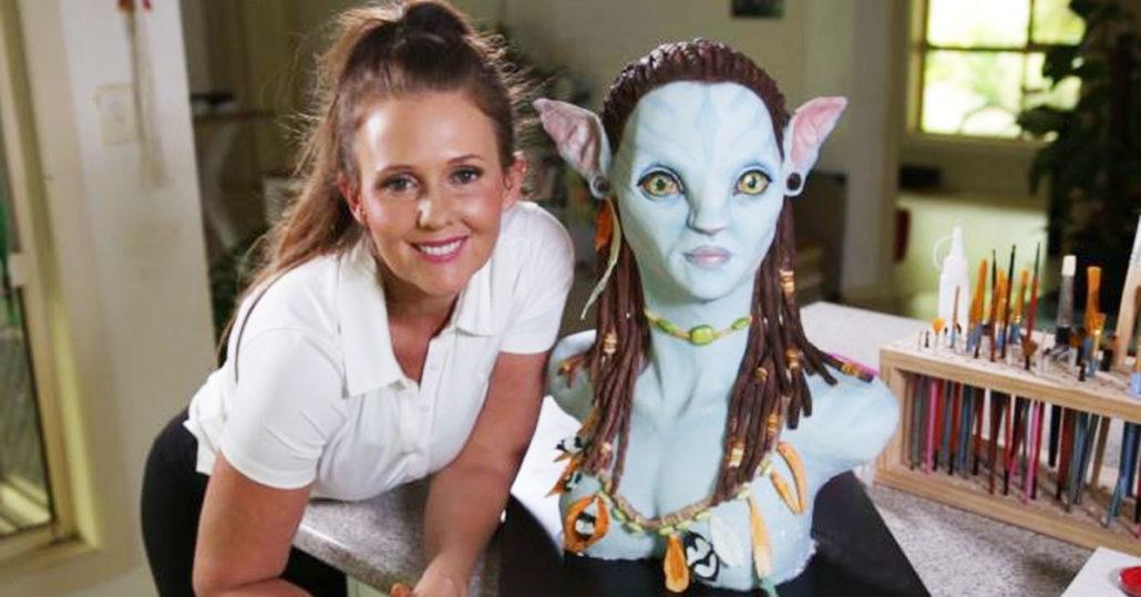 Neytiri Avatar Cake with Heidi Dahlenburg